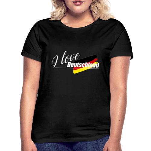 I love Deutschland - Frauen T-Shirt