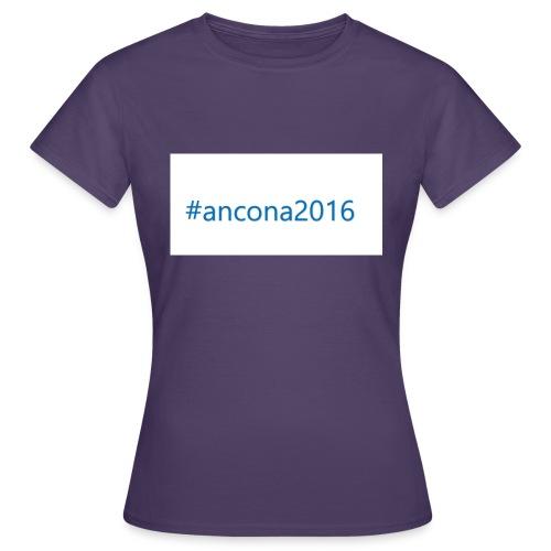 #ancona2016 - Camiseta mujer