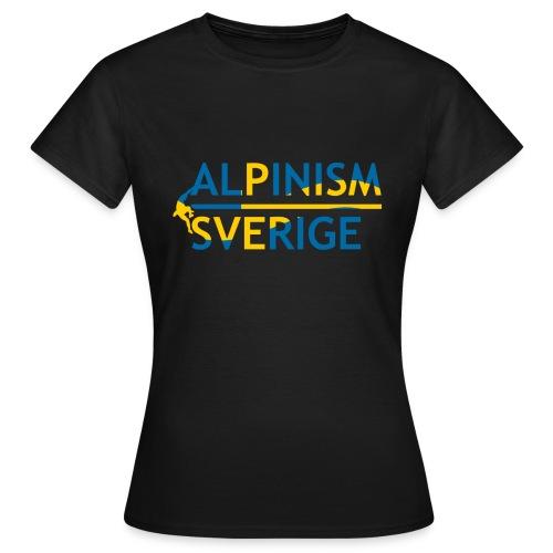 Alpinism Sverige - T-shirt dam