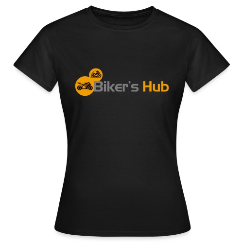 Biker's Hub Small Logo - Women's T-Shirt