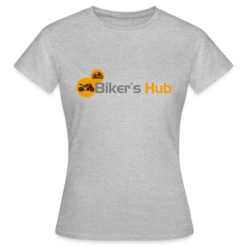 Biker's Hub Small Logo - Women's T-Shirt