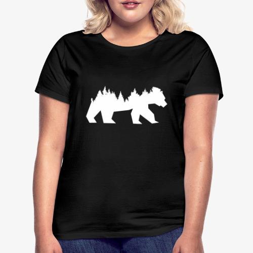 Bear Wald - Frauen T-Shirt