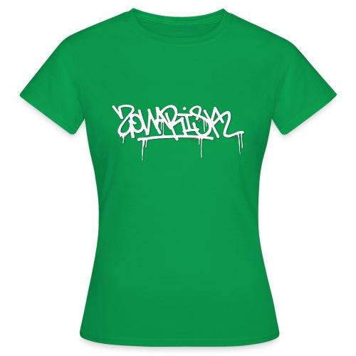Zonarisk Logo Blanc - T-shirt Femme