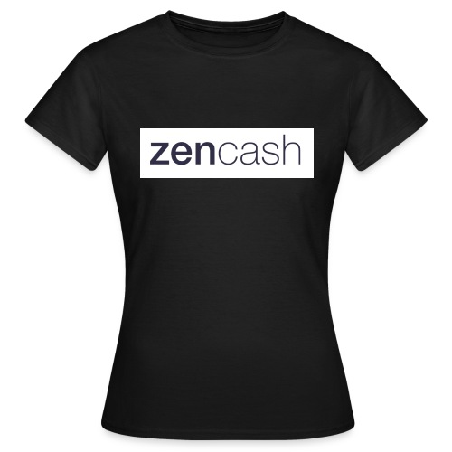 ZenCash CMYK_Horiz - Full - Women's T-Shirt