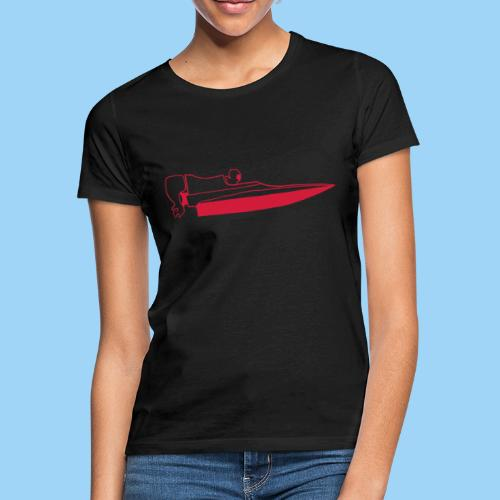 Powerboat GT30/GT15 Red - T-shirt dam