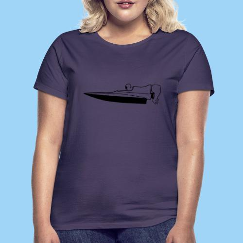 Powerboat GT30/GT15 Black flip - T-shirt dam