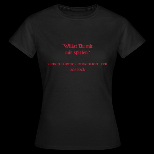 Siebentürme Convention XVII - Frauen T-Shirt