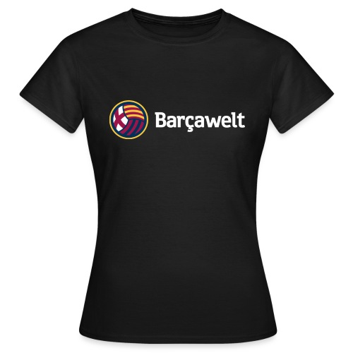 Barcawelt Logo mit Slogan - Frauen T-Shirt