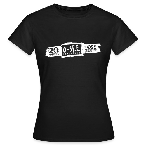 O-SEE Challenge 2020 weiss - Frauen T-Shirt