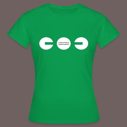 GBIGBO zjebeezjeboo - Fun - Packman 01 - T-shirt Femme