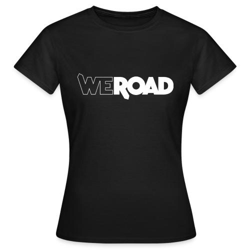 Logo WeRoad Bianco - Maglietta da donna