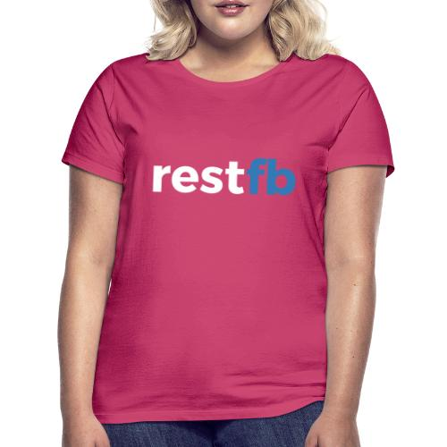 RestFB logo white - Women's T-Shirt