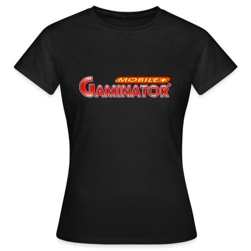 Gaminator logo - Women's T-Shirt
