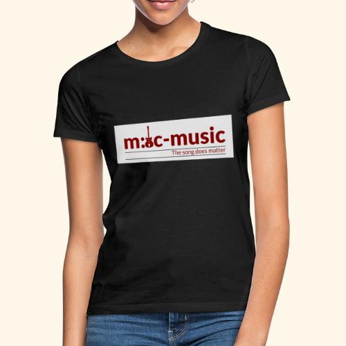 mtc music - Frauen T-Shirt