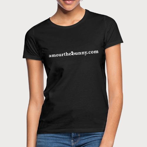 Website Adress White - Frauen T-Shirt