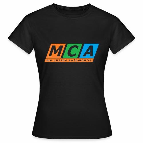 logo complet TRANSPARENT - T-shirt Femme