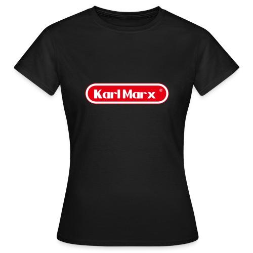 Karl Marx Logo - Maglietta da donna