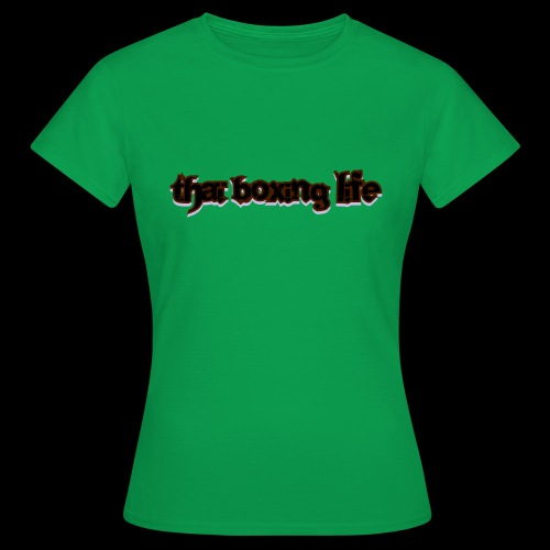 MTS92 THAI BOXING LIFE - T-shirt Femme