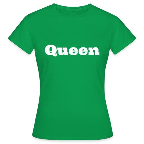 Snapback queen zwart/grijs - Vrouwen T-shirt
