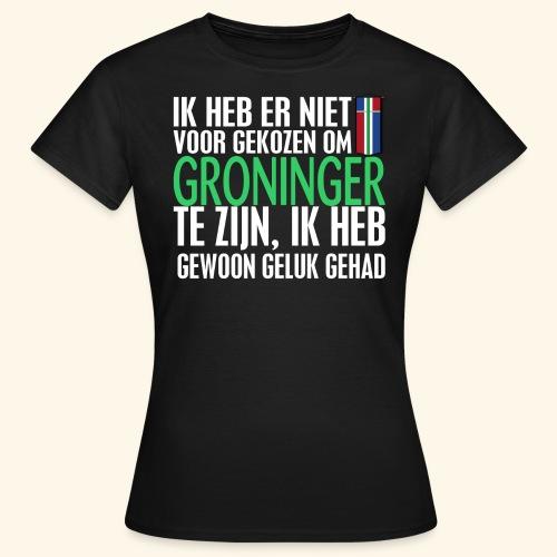 Heb er niet voor gekozen om Groninger te zijn... - Women's T-Shirt