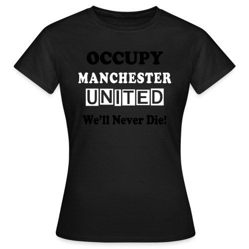 occupy epl man utd - Women's T-Shirt