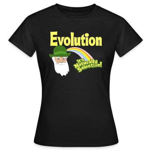 Evolution - it's Naturally Selective - Women's T-Shirt