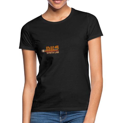 DKS SYNTH LAB Flat Orange-Orange - Maglietta da donna