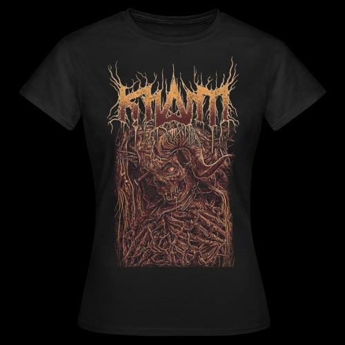 khasm Death Monster - T-shirt Femme