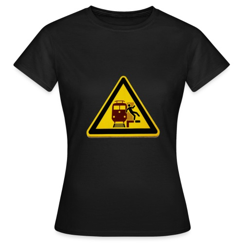WARNING - Dame-T-shirt