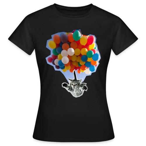 Balloon Cat - Women's T-Shirt