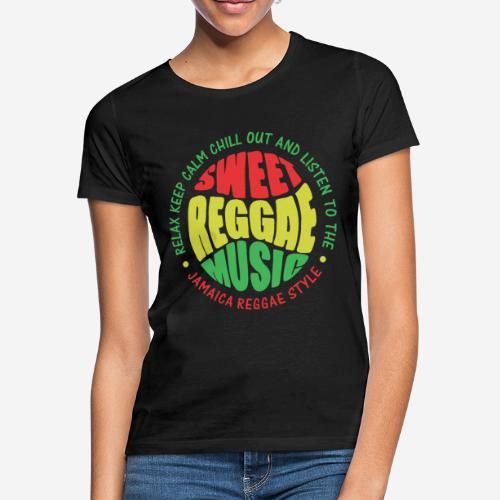 relax chill reggae music jamaica - Frauen T-Shirt