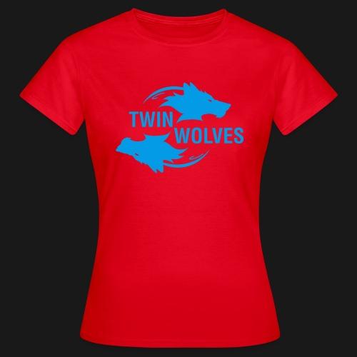 Twin Wolves Studio - Maglietta da donna
