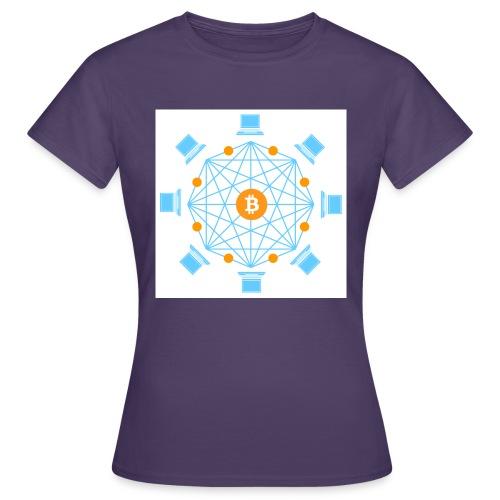 Blockchain - Naisten t-paita