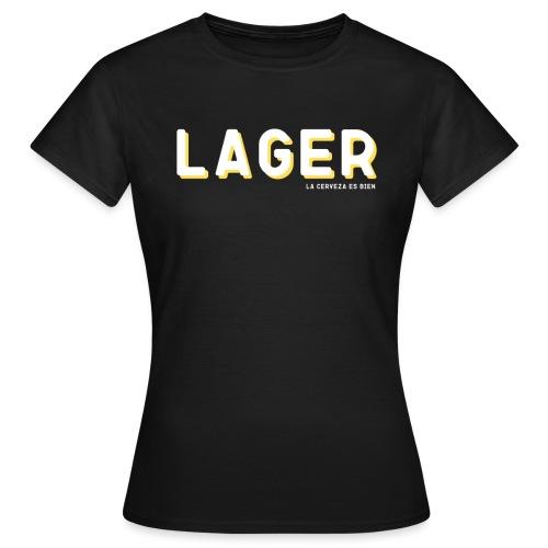 LAGER - Camiseta mujer
