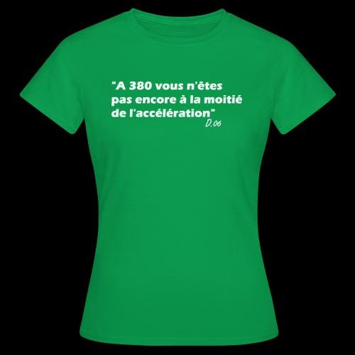 380 (blanc) - T-shirt Femme