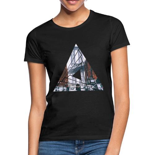 Manhattan Bridge of Brooklyn New York City - Frauen T-Shirt