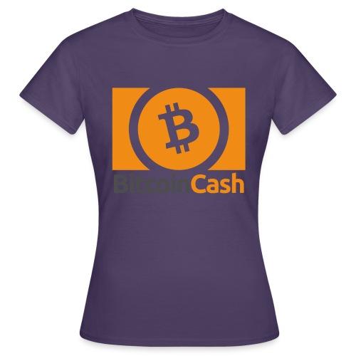 Bitcoin Cash - Naisten t-paita