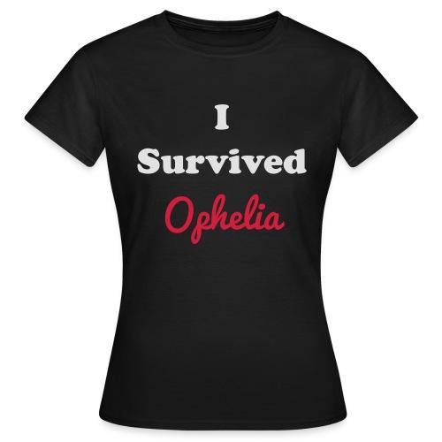 IsurvivedOpheliaWhitered - Women's T-Shirt