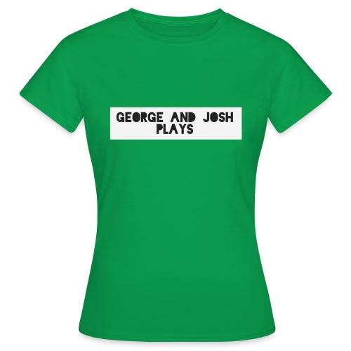 George-and-Josh-Plays-Merch - Women's T-Shirt