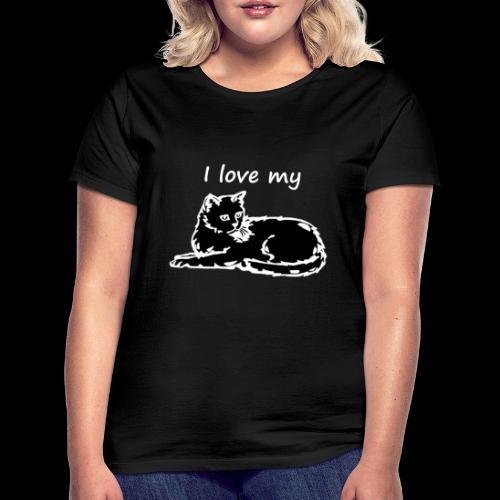 katzelove png - Frauen T-Shirt