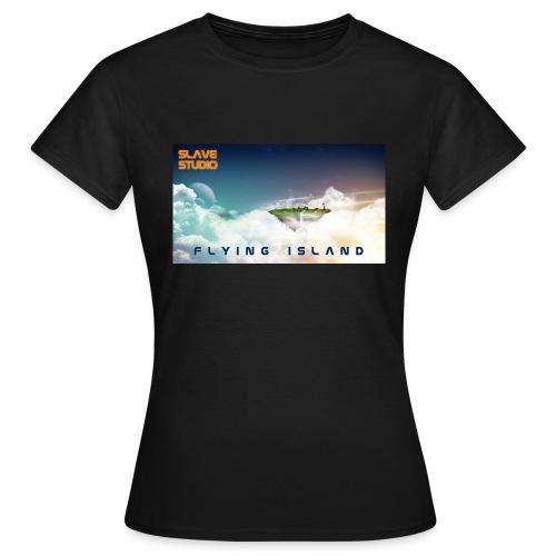 flying island - Maglietta da donna