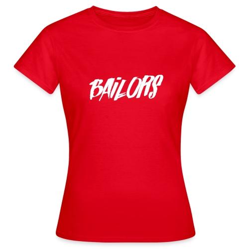 Bailors Painted white - Vrouwen T-shirt