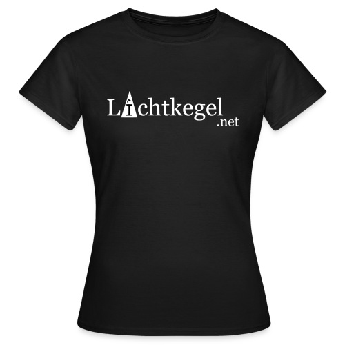 Lichtkegelnet-vektor - Frauen T-Shirt