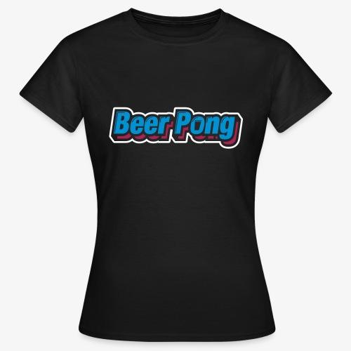 Beer Pong Logo X - Frauen T-Shirt