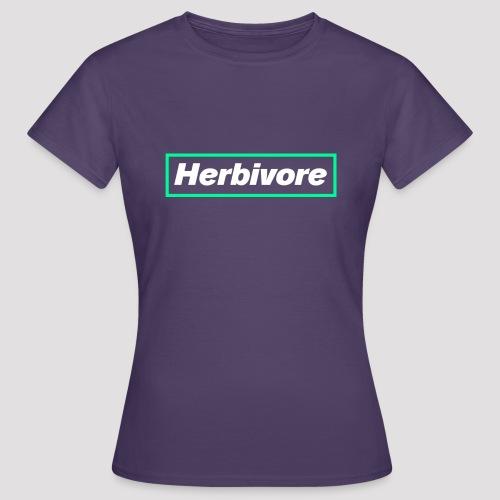Herbivore Logo White - Maglietta da donna