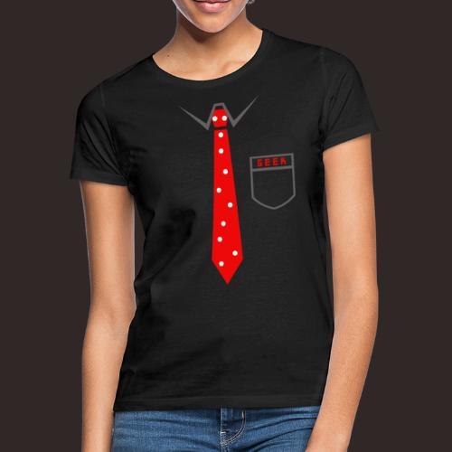 Geek | Schlips Krawatte Wissenschaft Streber - Frauen T-Shirt