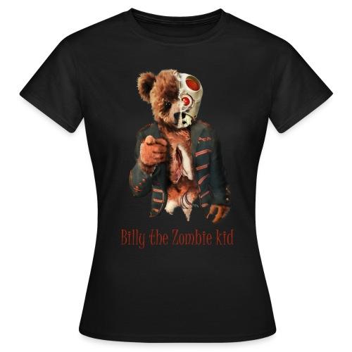Billy the Zombie kid T-shirt. - T-shirt dam