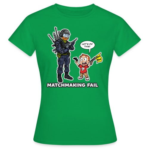 matchmaking1 - Women's T-Shirt