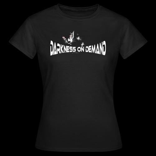 DoD Darkness on Demand Cat - Frauen T-Shirt