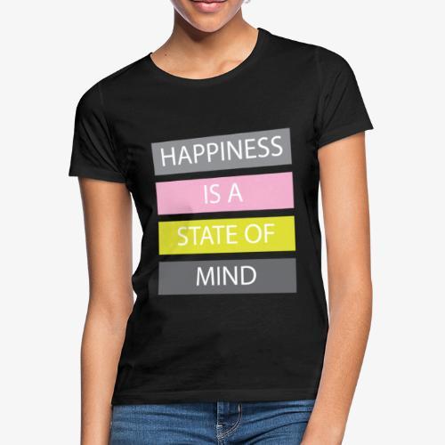Happiness - Maglietta da donna